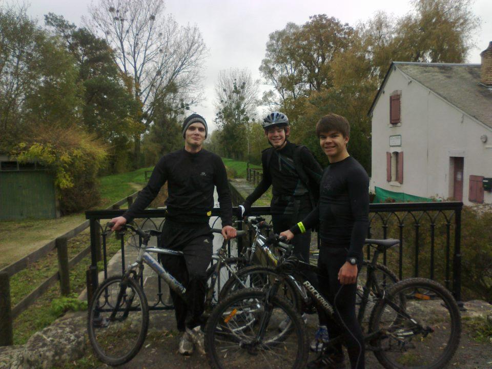 Sortie vélo du 11 novembre 2012