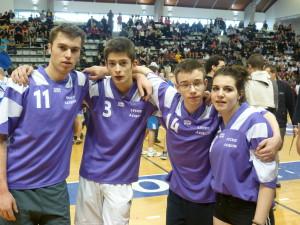 L'équipe mixte du lycée Jacques Coeur