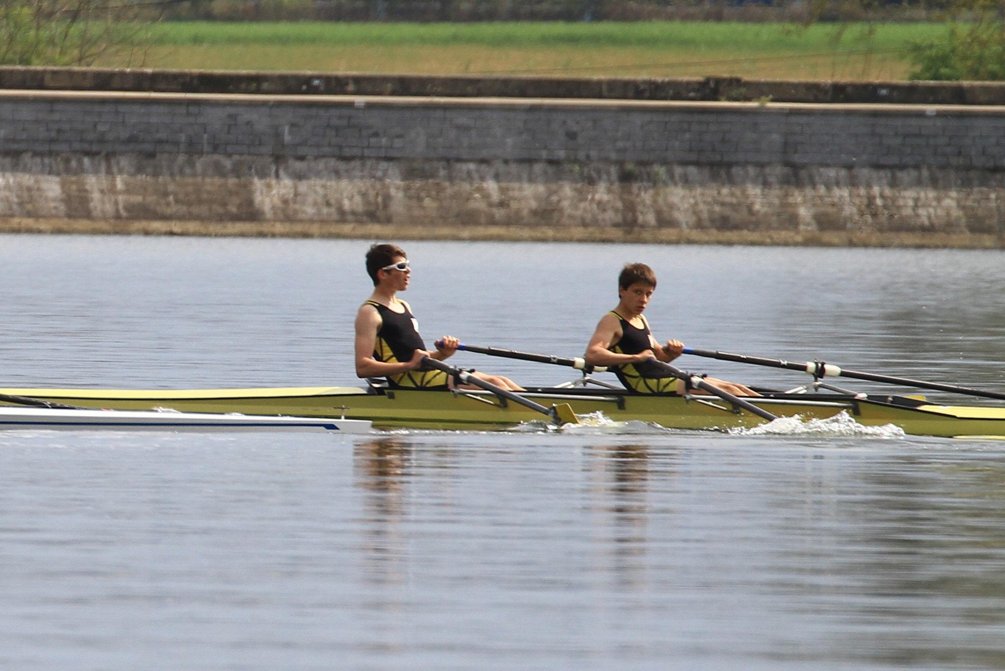 William et Julien sur la fin de course