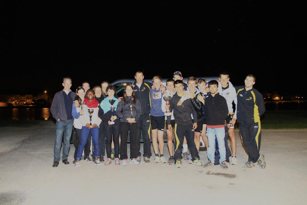 La délégation de l'Aviron Club de Bourges