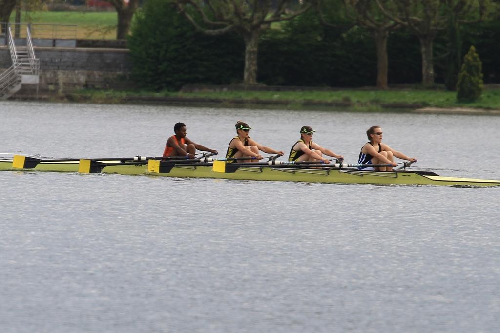 4 de couple cadette avec Emma (COTS), Emma (ACB), Alexia (ACB) et Clémence (ACOO)