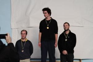 Alexandre et Pierre, 2e et 3e en senior homme